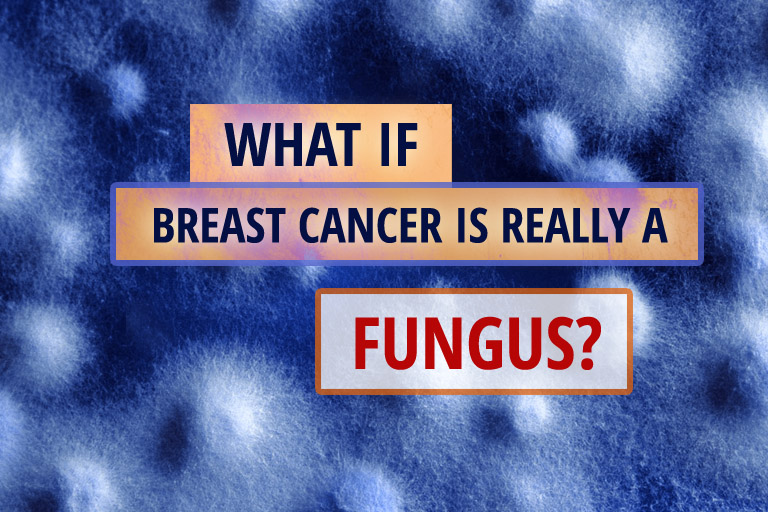 Rash breast fungus