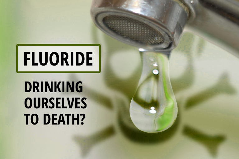 Fluoride-drinking