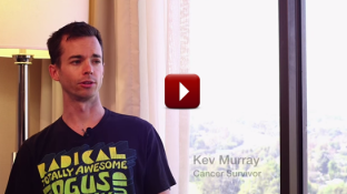 Testicular Cancer Survivor Story of Kev Murray (video)