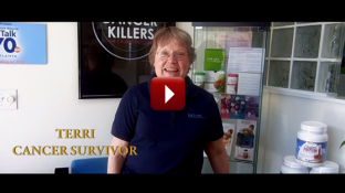 Stage 4 Breast Cancer Survivor Story of Terri (video)