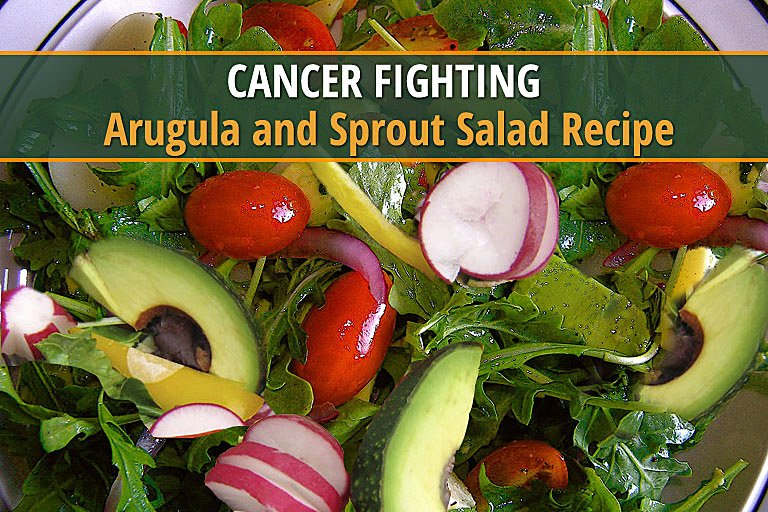 Cancer fighting arugula and sprout salad recipe aragula 2 forumfinder Choice Image