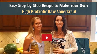 Easy Step-by-Step Recipe to Make Your Own High Probiotic Raw Sauerkraut (video)