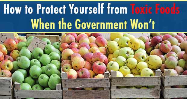 How to Protect Yourself from Toxic Foods When the Government Won't