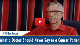 What a Doctor Should Never Say to a Cancer Patient (video)