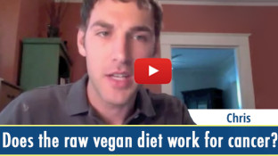 Does the raw vegan diet work for cancer? (video)