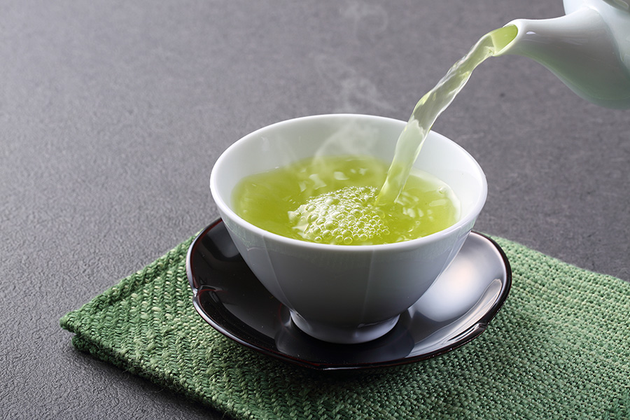 Antioxidante green tea