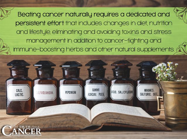 Beating cancer naturally requires a dedicated and persistent effort.