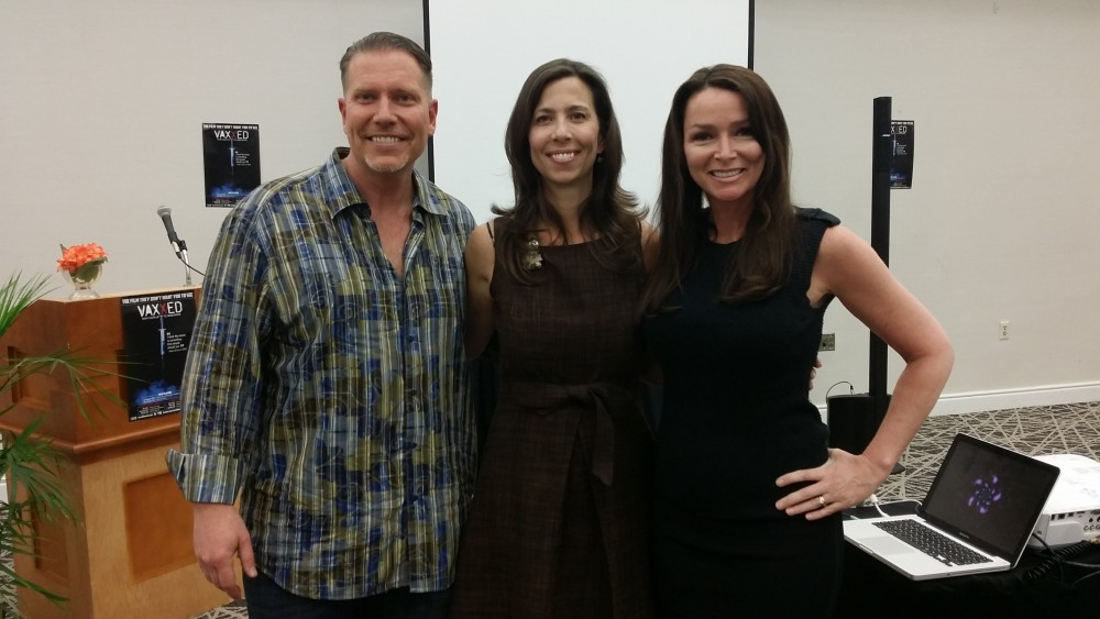 Ty Bollinger, Michelle Ford (Revolution For Truth), and Charlene Bollinger