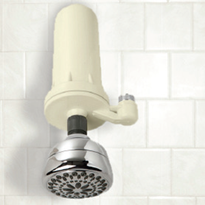 An Omica showerhead filter can remove many contaminants, but does not remove fluoride
