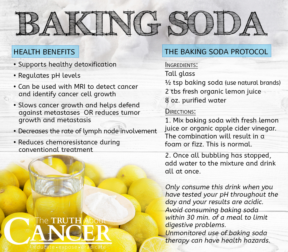 Baking Soda Uses For Helping To Prevent And Heal Cancer