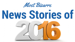 "Top 16 ""Bizarro World"" Stories of 2016"