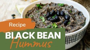 Ultimate Black Bean Hummus Recipe