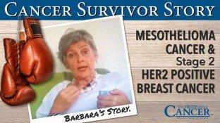 Cancer Survivor Story: Barbara Gannon (Mesothelioma)