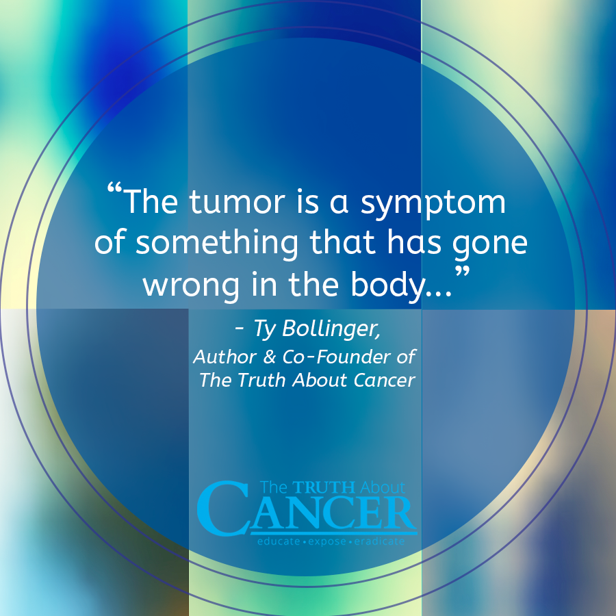 Ty-Bollinger-standard-cancer-treatment-quote