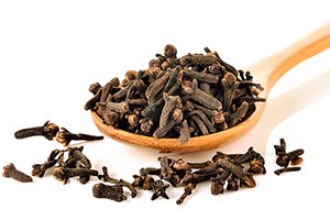 Cloves are the aromatic flower buds of a tropical evergreen tree native to Indonesia