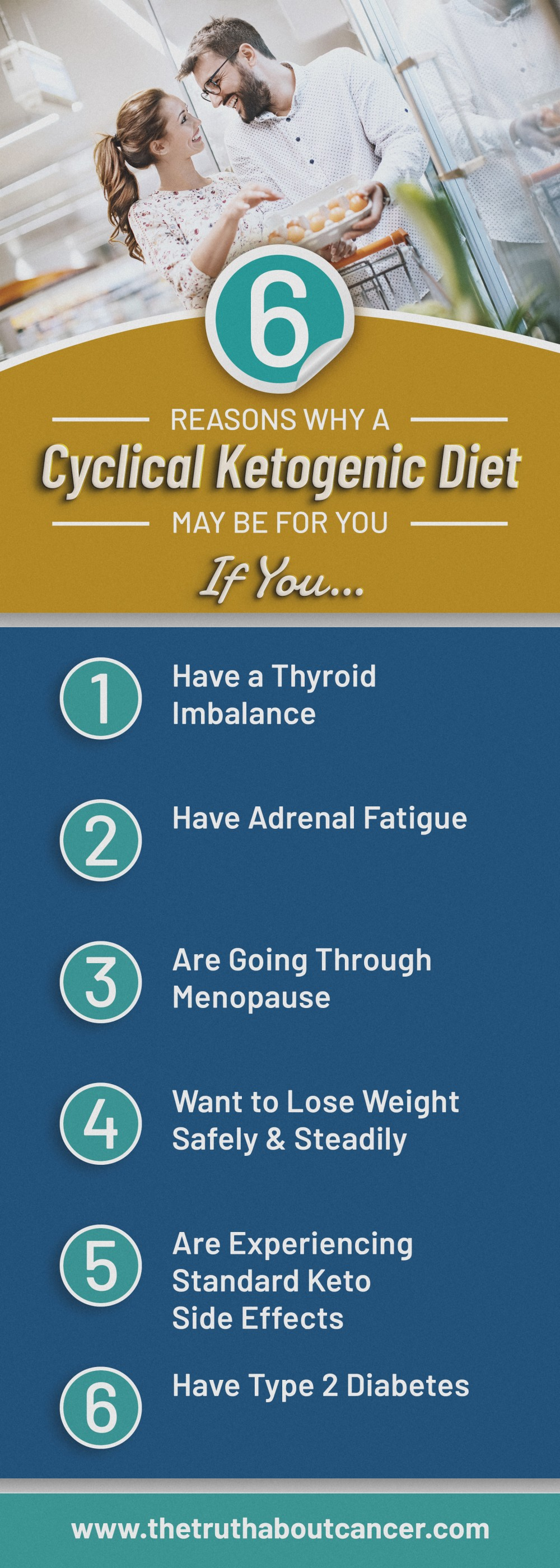6 reasons why a cyclical ketogenic diet may be for you