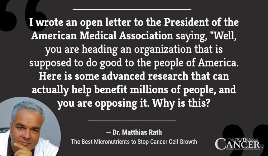 Dr. Matthias Rath - Quote