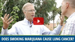 Does Smoking Marijuana Cause Lung Cancer? (video)