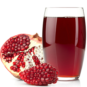 "Only use fresh pomegranate juice made from the actual fruit, not processed pomegranate-flavored ""drinks"""