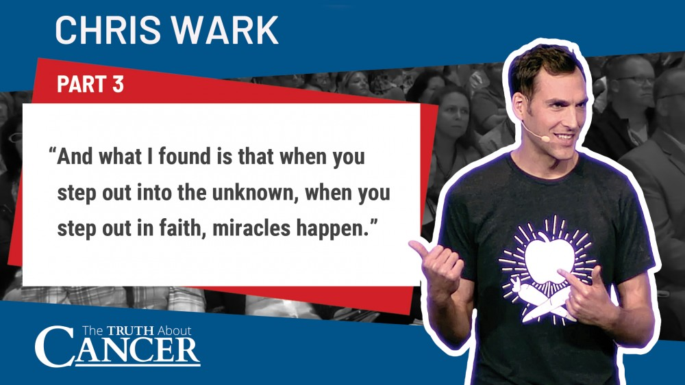chris wark quote on stepping out into the unknown