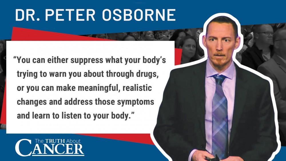 dr. peter osborne quote