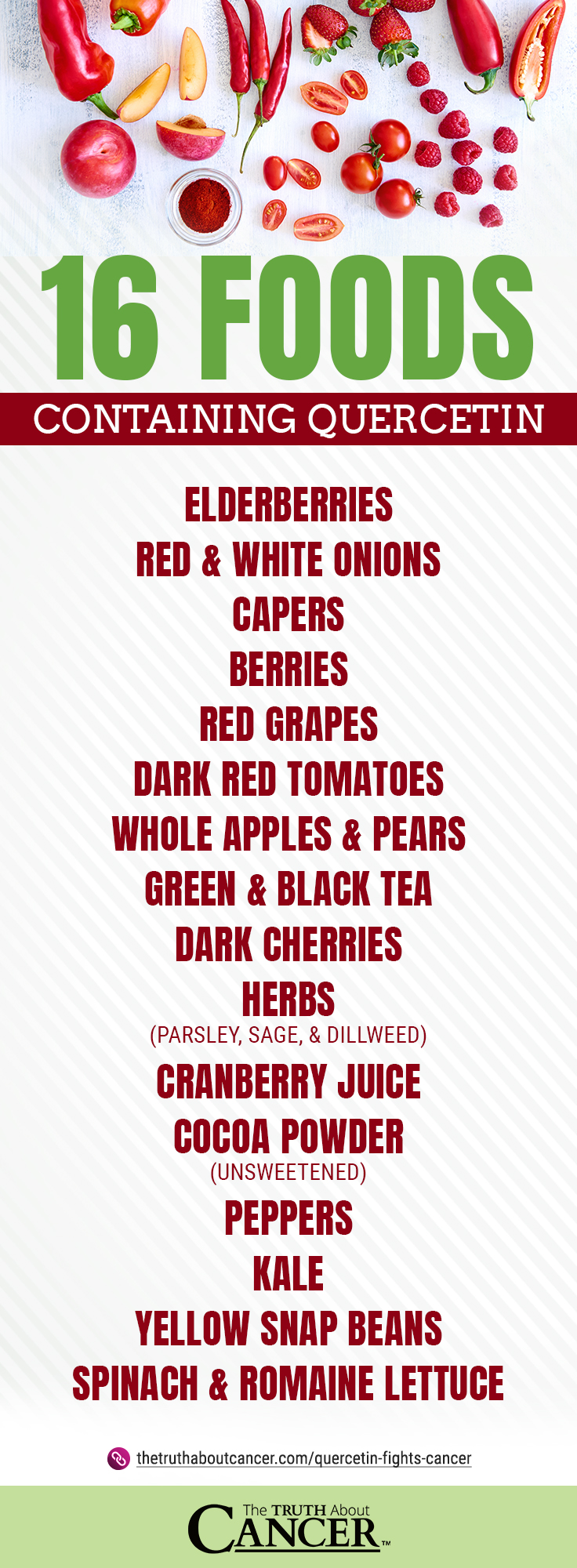 16 Foods Containing Quercetin