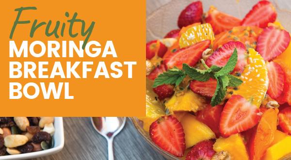 fruity moringa breakfast bowl fi