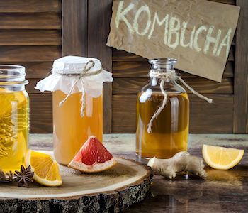 kombucha probiotic drinks