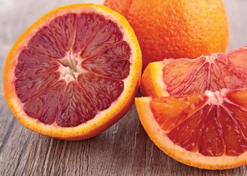 blood oranges containing lycopene
