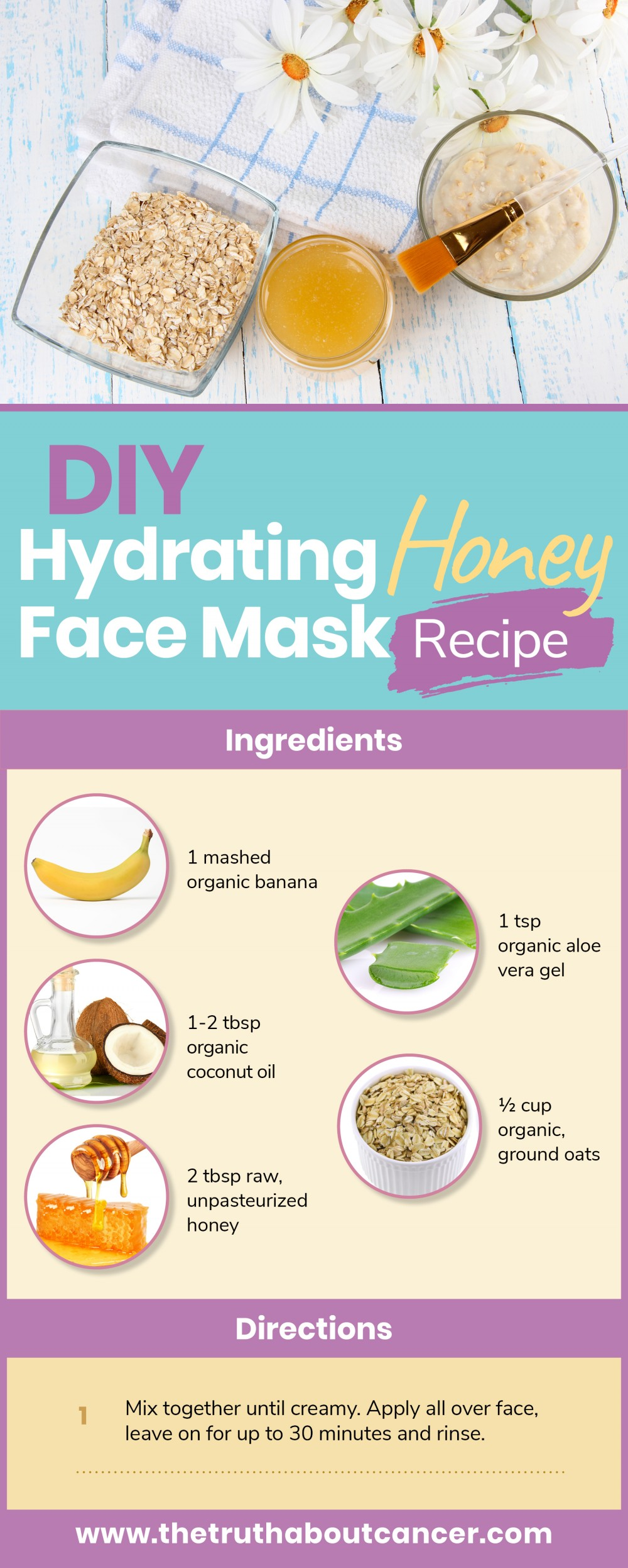 natural skin care face mask recipe
