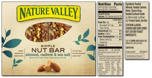 Nature Valley Simple Nut Bar