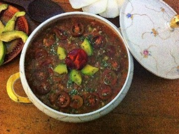 Recipe-natural-remedy-for-nausea-Lemon-Spice-Gazpacho