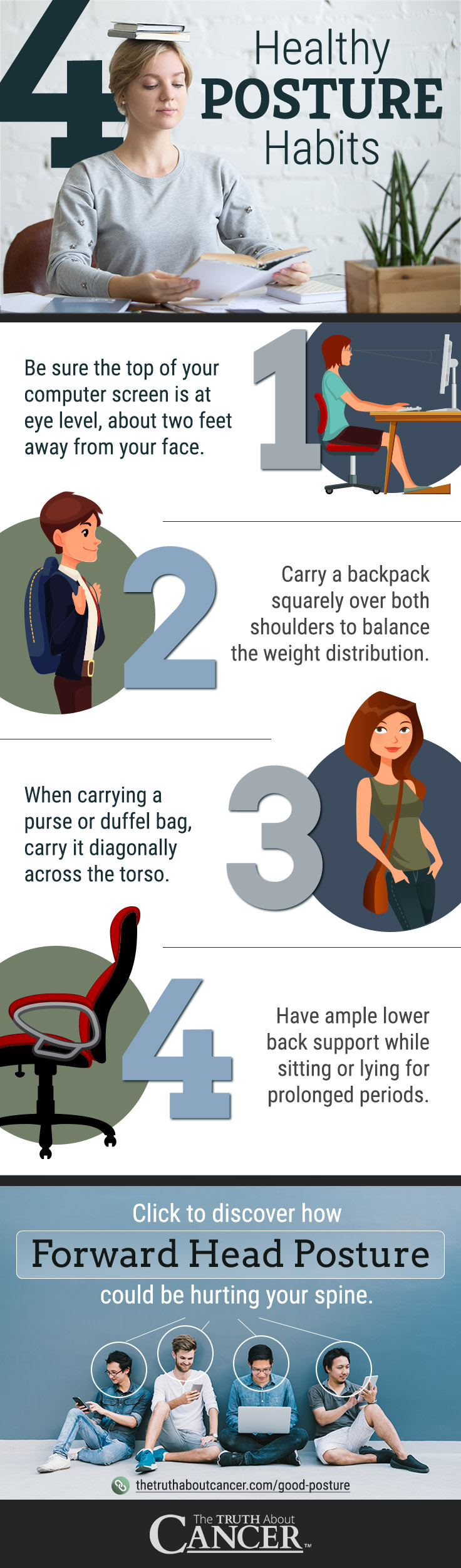 4 Healthy Posture Habits