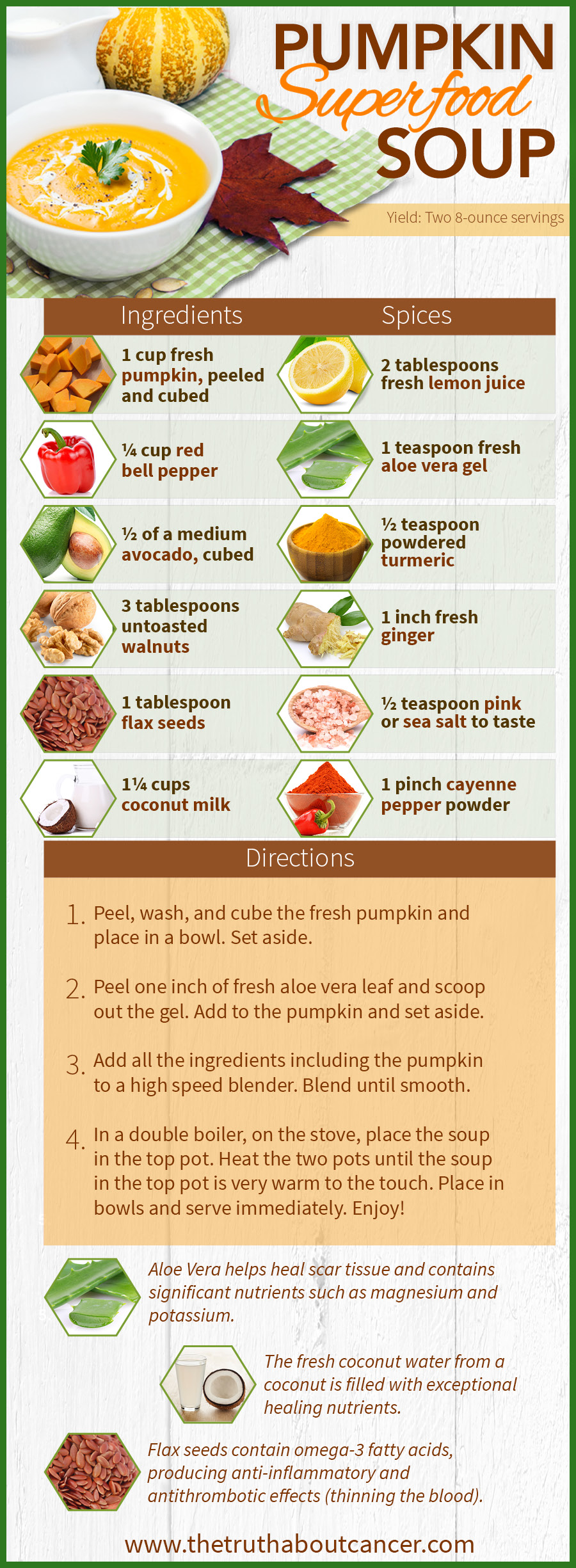 Pumpking Superfood Soup Recipe to Alleviate Dysphagia