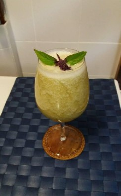 Honeydew Basil Punch
