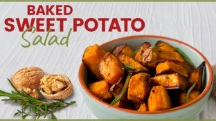 Antioxidant Recipe: Baked Sweet Potato Salad
