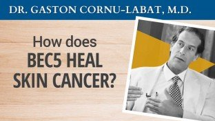 How Does BEC5 Cream Heal Skin Cancer? (video)