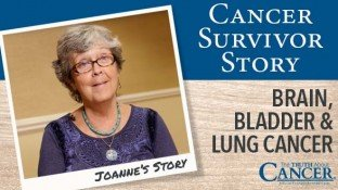 Cancer Survivor Story: Joanne Stuart (Brain, Bladder, Lung Cancer)