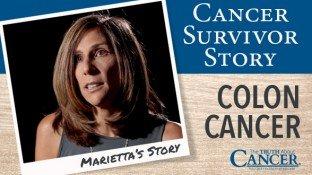 Cancer Survivor Story: Marietta (Colon Cancer)