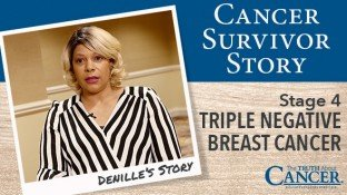 Cancer Survivor Story: Denille Chrissluis (Triple Negative Breast Cancer)