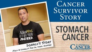 Cancer Survivor Story: Donald Gioffre (Stomach Cancer)