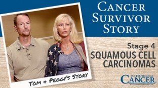 Cancer Survivor Story: Tom & Peggy Moulton (Squamous Cell Carcinomas)
