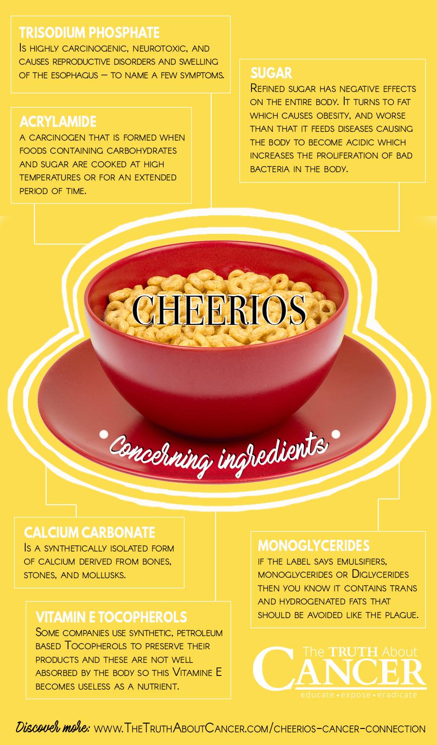 Cheerios Concerning Ingredients