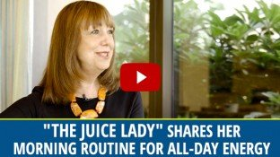 """The Juice Lady"" Shares Her Morning Routine for All Day Energy (video)"