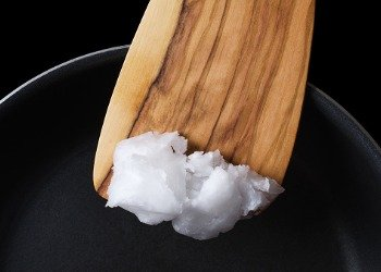 using coconut oil while cooking