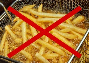 High heat + vegetable oils make deep fried foods especially harmful to your health