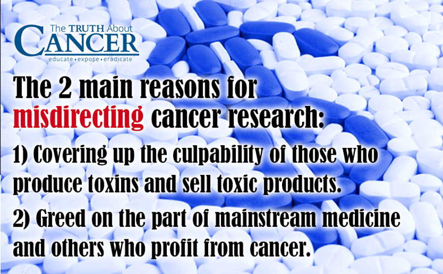 Misdirecting Cancer Research