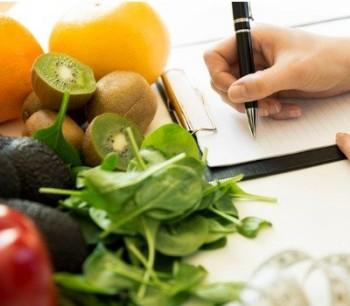 homeopath writing diet plan