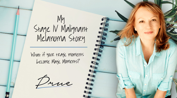 This is Prue Sinclairs stage VI Malignant Melanoma Cancer Survivor story.