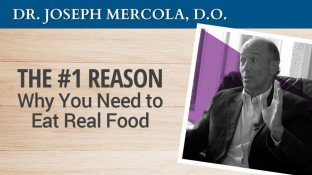 The #1 Reason Why You Need to Eat Real Food (video)
